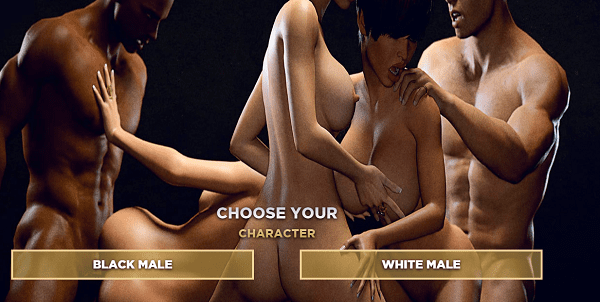 jeux porno interracial simulateur